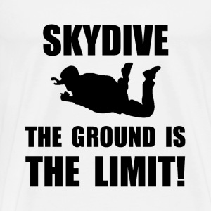 Skydive Ground Limit T-Shirts - Men's Premium T-Shirt