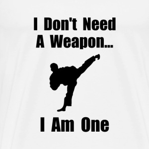 Martial Arts Weapon - Men's Premium T-Shirt