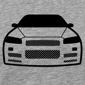 JDM Car Eyes R34 | T-shirts JDM - Men's Premium T-Shirt