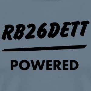 JDM Engine powered RB26DETT | T-shirts JDM - Men's Premium T-Shirt