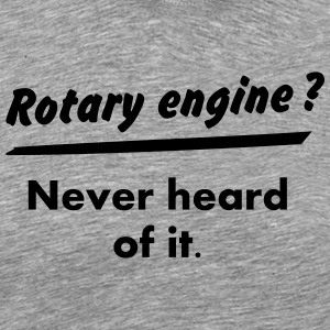 JDM What's a rotary engine ? | T-shirts JDM - Men's Premium T-Shirt