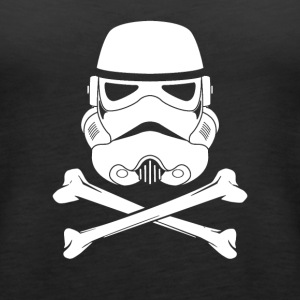 Jolly Roger Stormtrooper - Women's Premium Tank Top