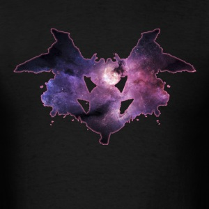 Rorschach I purple - Men's T-Shirt