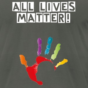 All Lives - Men's T-Shirt by American Apparel