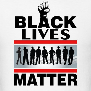 Custom Black Lives Matter design - Men's T-Shirt