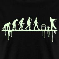 Design ~ Evolution: Zombie (glowing in the dark)