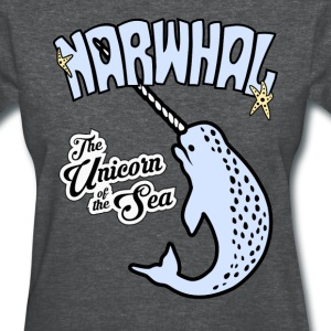 Narwhal The Unicorn of the Sea t-shirt - Women's T-Shirt