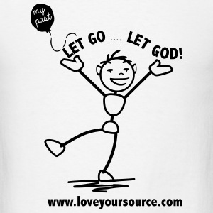 Balloon Let Go Let God T-Shirts - Men's T-Shirt