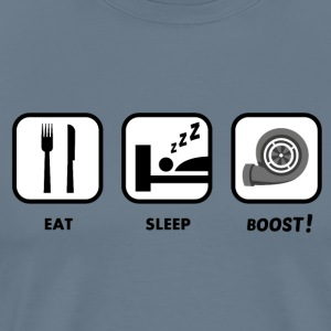 JDM Eat, Sleep, BOOST!  | T-shirts JDM T-Shirts - Men's Premium T-Shirt