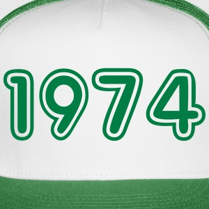 1974, Numbers, Year, Year Of Birth Sportswear - Trucker Cap