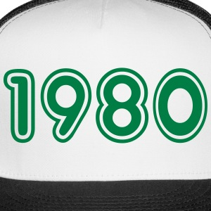 1980, Numbers, Year, Year Of Birth Sportswear - Trucker Cap