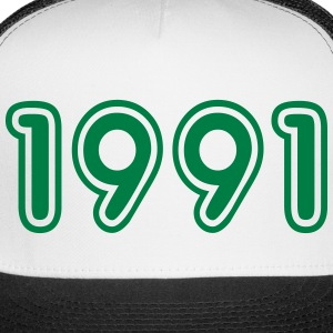 1991, Numbers, Year, Year Of Birth Sportswear - Trucker Cap