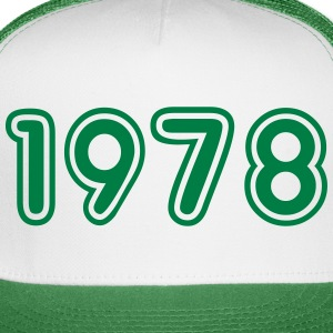 1978, Numbers, Year, Year Of Birth Sportswear - Trucker Cap