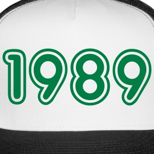 1989, Numbers, Year, Year Of Birth Sportswear - Trucker Cap