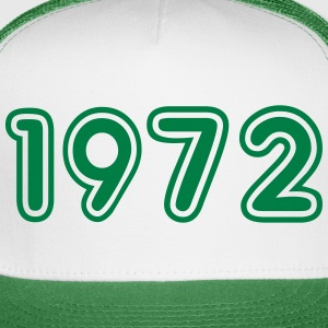 1972, Numbers, Year, Year Of Birth Sportswear - Trucker Cap