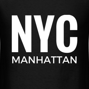 NYC MANHATTAN T-Shirts - Men's T-Shirt