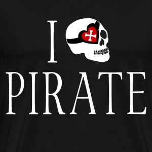 I HEARTH PIRATE - Men's Premium T-Shirt