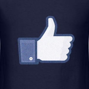 Facebook like noise T-Shirts - Men's T-Shirt