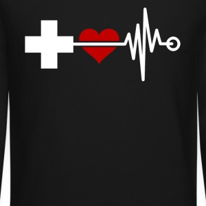 Love Nurses Shirt - Crewneck Sweatshirt