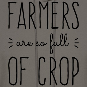 Farmers Full of Crop Hoodies - Men's Hoodie