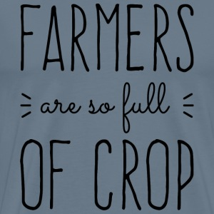 Farmers Full of Crop T-Shirts - Men's Premium T-Shirt