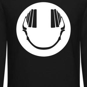 Smiley DJ Love Music - Crewneck Sweatshirt