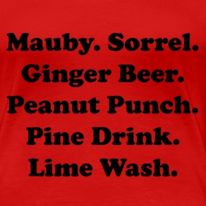 Drink up tee! in Red - Women's Premium T-Shirt