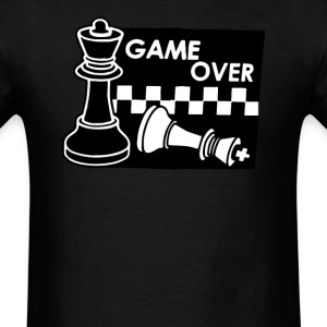 Checkmate Game Over - Men's T-Shirt