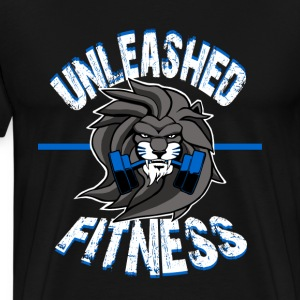 Unleashed Fitness Premium Black Tee - Men's Premium T-Shirt