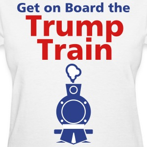 Trump Train - Women's T-Shirt