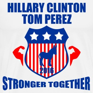 CLINTON PEREZ STRONGER TOGETHER - Men's Premium T-Shirt