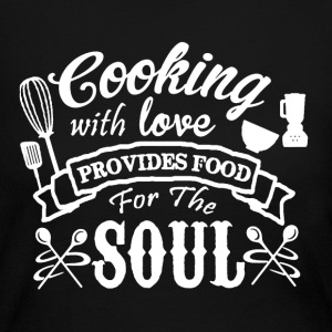 Cooking With Love - Women's Long Sleeve Jersey T-Shirt
