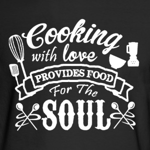 Cooking With Love - Men's Long Sleeve T-Shirt