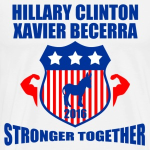 CLINTON BECERRA STRONGER TOGETHER - Men's Premium T-Shirt