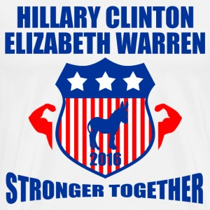 CLINTON WARREN STRONGER TOGETHER - Men's Premium T-Shirt