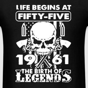 1961 The Birth Of Legends - Men's T-Shirt