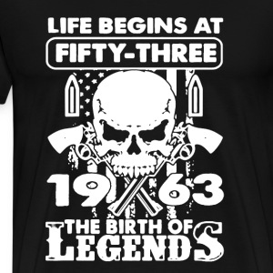 1963 The Birth Of Legends - Men's Premium T-Shirt