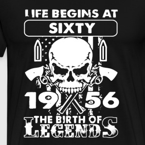 1956 The Birth Of Legends - Men's Premium T-Shirt