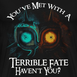 Owl - You've met with a terrible fate - Men's Premium T-Shirt