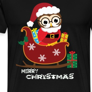 Ugly Christmas gift for owl lover - Men's Premium T-Shirt