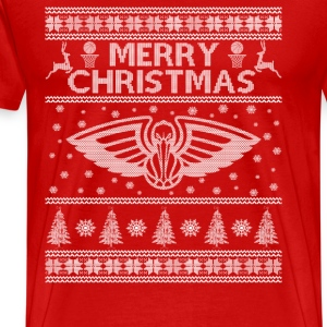 New orleens - Christmas awesome basketball sweater - Men's Premium T-Shirt