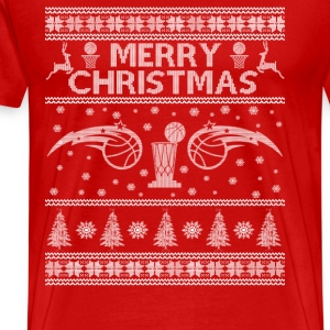 Basketball - Basketball Christmas awesome sweater - Men's Premium T-Shirt
