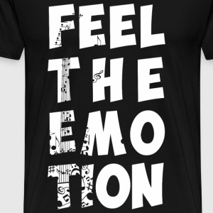 Music - Feel the emotion t-shirt for fans - Men's Premium T-Shirt