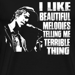 Music - I like beautiful melodies telling me thing - Men's Premium T-Shirt