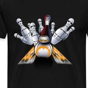 Bowling - Star wars bowling awesome t-shirt - Men's Premium T-Shirt