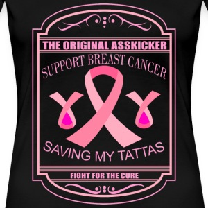 Cancer - Support breast cancer awesome t-shirt - Women's Premium T-Shirt