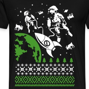 Astronaut - Awesome christmas sweater astronaut - Men's Premium T-Shirt
