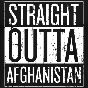 Afghanistan - Straight outta Afghanistan t-shirt - Men's Premium T-Shirt