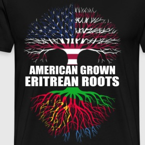 Eritrean roots - American grown t-shirt for erit - Men's Premium T-Shirt