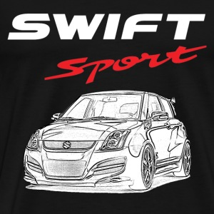 Suzuki swift - Awesome t-shirt for suzuki lovers - Men's Premium T-Shirt